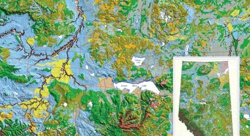 Géologie de surface de l'Alberta
