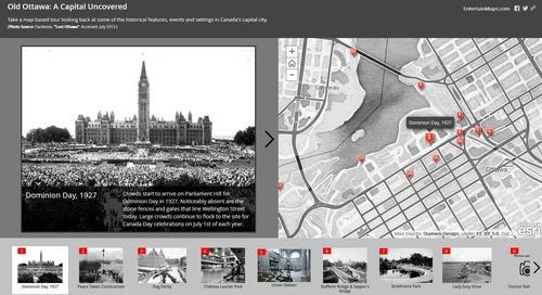 Application du mois de juillet: Old Ottawa: A Capital Uncovered (vieil Ottawa: une capitale à découvrir)