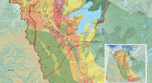 Potentiel en hydrocarbures des Territoires du Nord-Ouest