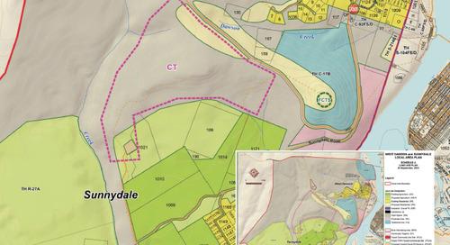 Plan d'aménagement local à West Dawson et Sunnydale
