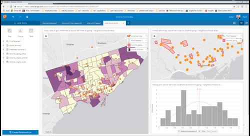 Exploitez le plein potentiel des analyses avec Insights for ArcGIS