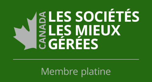 Esri Canada obtient la « Reconnaissance Platine » des entreprises les mieux gérées au Canada