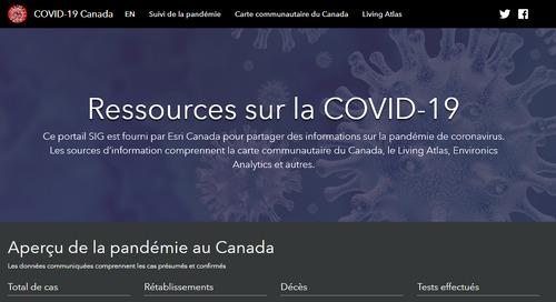 FAQ : répondre à la crise de COVID-19 avec les ressources gratuites d'ArcGIS Hub