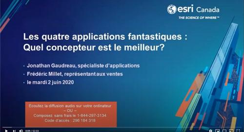 Les quatre applications fantastiques : Quel concepteur est le meilleur?