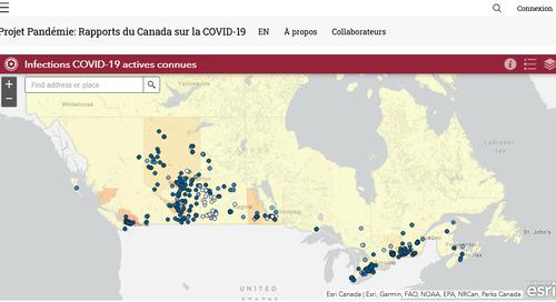 Application du mois – Projet Pandémie : rapports du Canada sur la COVID-19