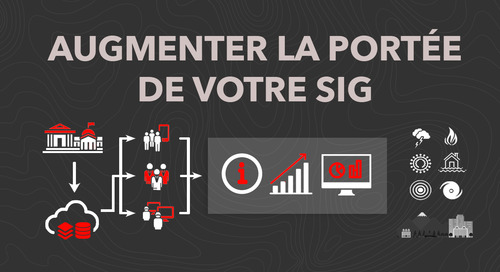 Augmenter la portée de votre SIG