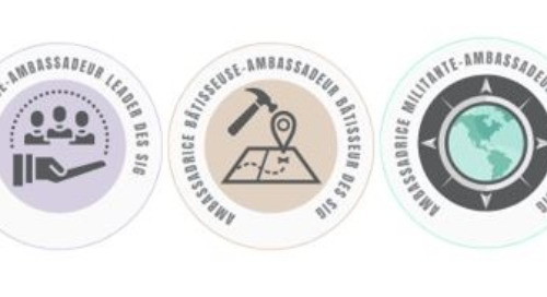 Lancement des badges d'ambassadeur des SIG