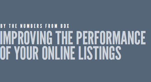 INFOGRAPHIC: Improving The Performance Of Your Online Listings
