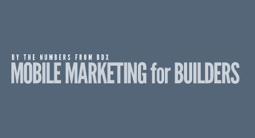 INFOGRAPHIC: Mobile Marketing for Builders