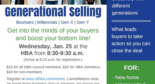 BDX Presents Generational Selling at STLHBA