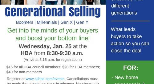 BDX Presents Generational Selling at STLHBA