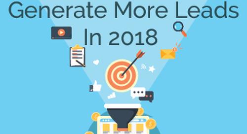 WEBINAR: 5 Ways Builders Can Generate More Leads In 2018