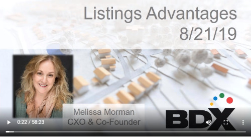 WEBINAR: Total Value of Listing with BDX - Your Solution to Connect & Convert