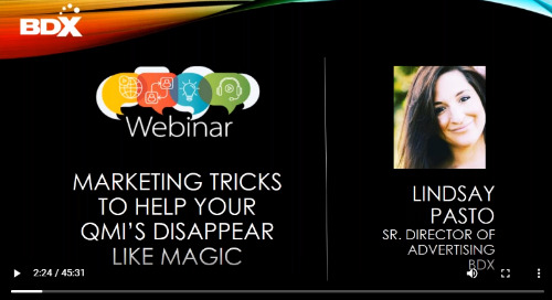 WEBINAR: Marketing Tricks to Help Your Quick Move In Homes Disappear Like Magic