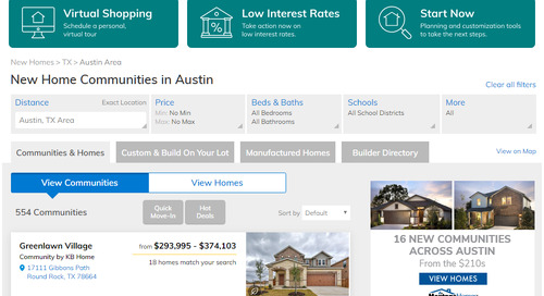 We've got your back — Changes to NewHomeSource.com to help you sell homes virtually