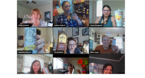 Virtual Cheers! Hosting Happy Hours Online