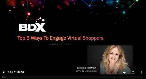Recorded Webinar: Top 5 Ways To Engage Virtual Shoppers Online
