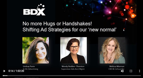 Recorded Webinar: No More Hugs or Handshakes —  Shifting Your Ad Strategies For Our New Normal