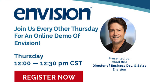 Envision Webinar: Every Other Thursday