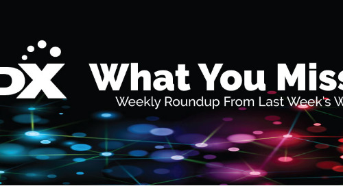 What You Missed — Roundup from the week of 4/27
