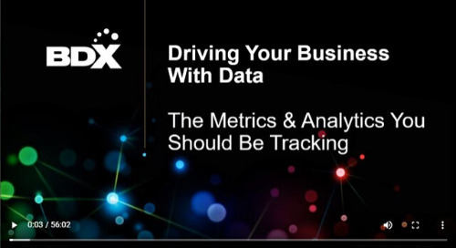 Recorded Webinar: Metrics & Analytics —  What Should You Be Tracking To Grow Your Business