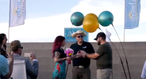 Builders Doing Amazing Things: Abrazo Homes Hosts a Surprise Wedding