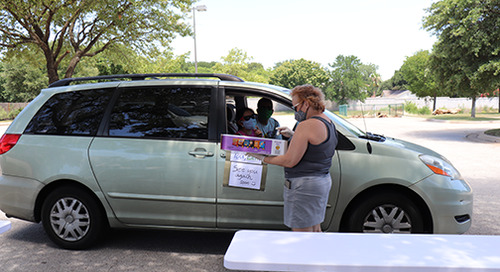 Staying Connected: Employee DriveThru Cookout