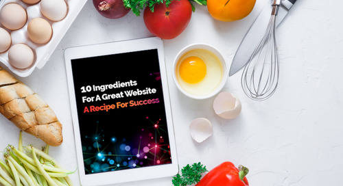 10 Ingredients for a Great Website – A Recipe For Success