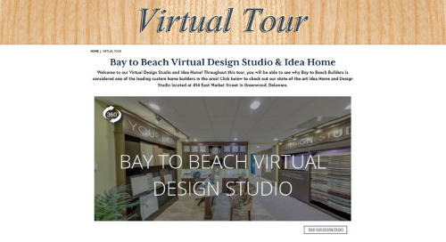 Builders Doing Amazing Things – Bay to Beach Builders' Virtual Tour Investment Pays Off Doubly