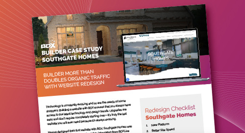 Southgate Homes Case Study: Builder Doubles Traffic With New Website