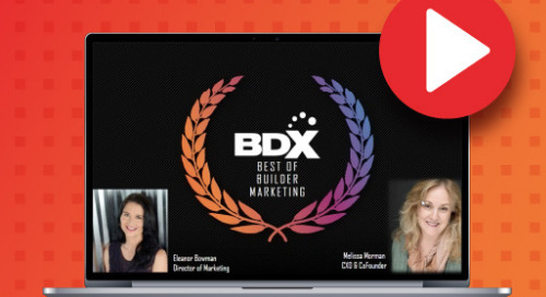 Recorded Webinar: Best of Builder Marketing -- Get Ideas, Get Inspired!