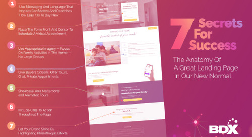 INFOGRAPHIC:The Anatomy of A Great Landing Page —  7 Secrets For Success