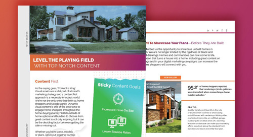 Visual Content Playbook - Home Builder's Guide To Visual Content