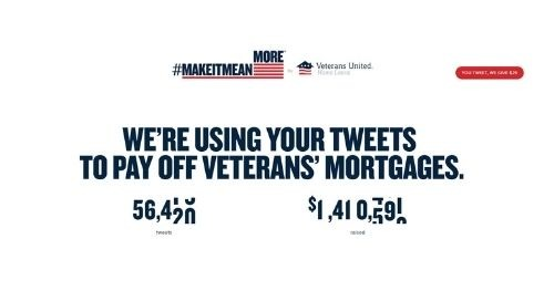 TWEET NOW! VU Home Loans contributing $25 for every Tweet!