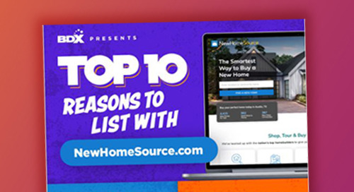 Top 10 Reasons To List With NewHomeSource