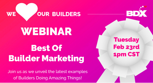 Recorded Webinar: Best of Builder Marketing