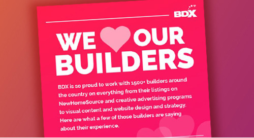 We Love Our Home Builders