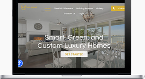 KHP Homes Builds a Dream Home and Gets a Dream Website