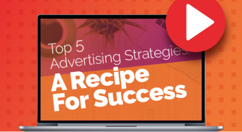 Upcoming Webinar 4/15 : Top 5 Advertising Strategies - A Recipe For Success