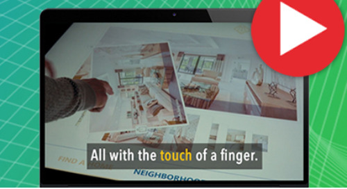 SalesMaxx Kiosk Uses The Power of Touch to Change the Future of New Home Sales