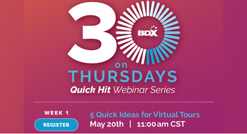 Recorded Webinar: 5 Quick Ideas for Virtual Tours