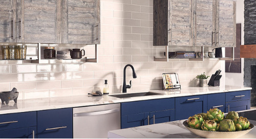 Matte Black Accents for a Minimal and Modern Kitchen Design - From Our Partners At Moen