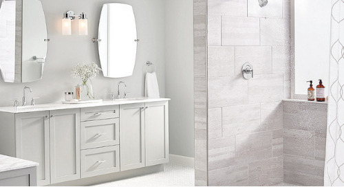 5 Touches to Make Your Bathroom Feel Lux - From Our Partners At Moen