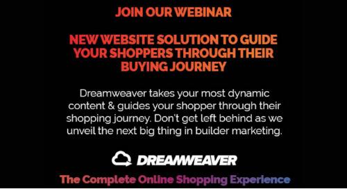 Upcoming Webinar 7/29: Dreamweaver—The Customer Journey Solution