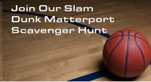 Join Our Slam Dunk Matterport Scavenger Hunt—Not Your Average Home Or Matterport Tour