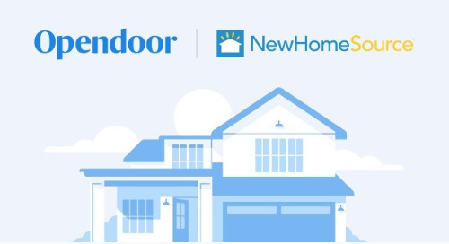BDX Partners With Opendoor to Create a More Seamless New Home Transaction on NewHomeSource