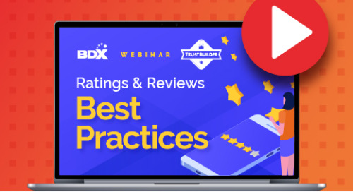 Recorded Webinar: Ratings and Reviews Best Practices
