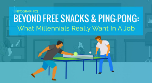 [INFOGRAPHIC] Beyond Free Snacks & Ping-Pong: What Millennials Really Want