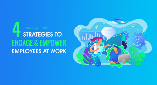 [INFOGRAPHIC] 4 Strategies To Engage & Empower Employees At Work