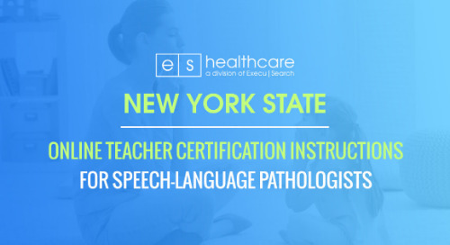 New York State Online Teacher Certification Instructions For SLPs